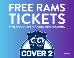 See your Rams. Free Rams Tickets When You Open a Checking Account.
