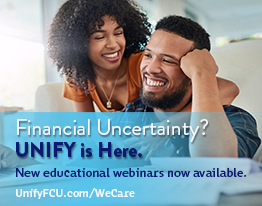 Financial Uncertainty? UNIFY is HERE. New educational webinars now available.