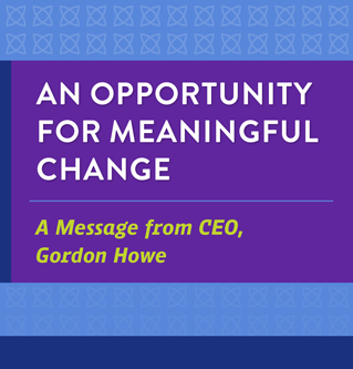 An Opportunity for Meaningful Change