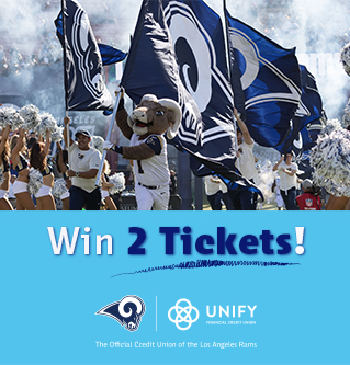 Win 2 Tickets to See the LA Rams!
