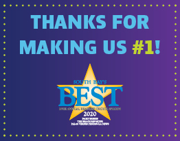 THANKS FOR MAKING US #1! We Won Best Credit Union in the South Bay!