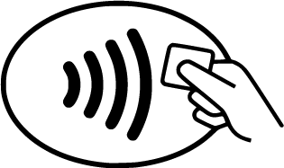 Universal Contactless Card Symbol